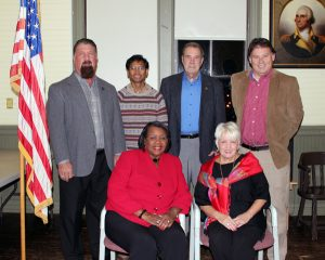 The Stanford City Council was formally sworn in on Dec. 13.